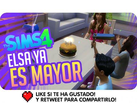 ELSA YA ES MAYOR!   Los Sims 4 con Luh