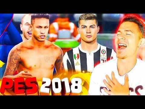 ПЕРВЫЙ РАЗ ИГРАЮ в PES 2018 myClub   МОЯ ПЕРВАЯ КОМАНДА Pro Evolution Soccer 18