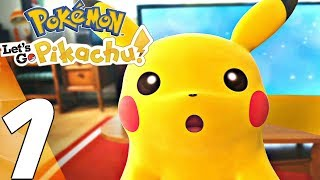 Pokemon Let's Go Pikachu - Gameplay Walkthrough Part 1 - Prologue (Full Game) Switch