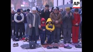 Eid celebrations in Istanbul, prayers