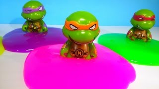 Teenage Mutant Ninja Turtles Clay Slime Surprise Toys