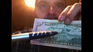 Exact Date Of USA Death Encrypted In $50 Dollar Bill (1776-2XXX)