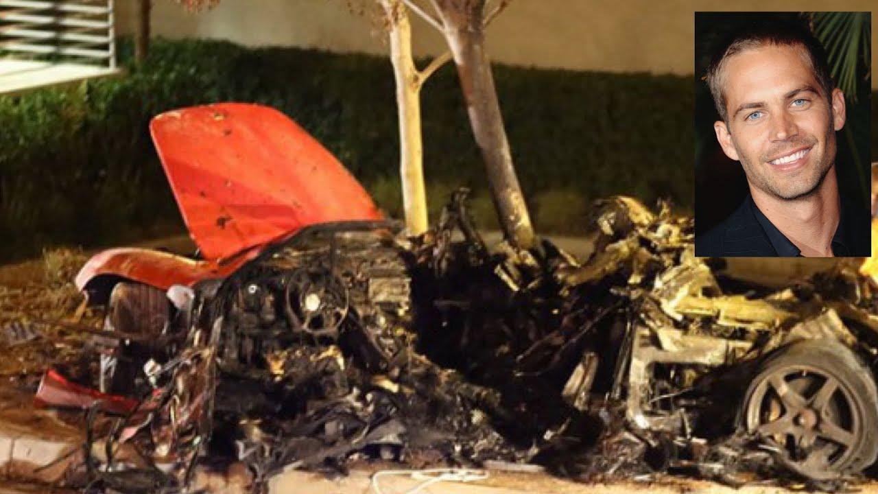 Paul Walker Car Crash Pics >> Paul Walker Dies in Fiery Car Crash: Raw Footage - YouTube