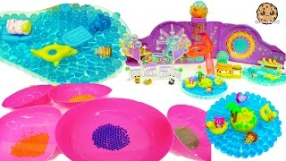 Planet Orbeez Growing Water Balls , Ride Ferris Wheel, Pool + Shopkins Surprise Blind Bags