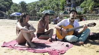 Music on the beach in Mazunte, Mexico