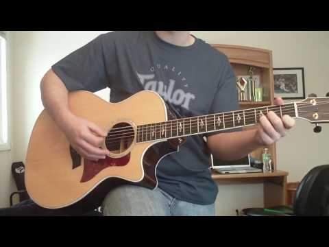 Last Night on Earth by Green Day Cover on Acoustic Guitar