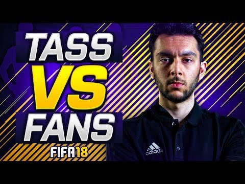 *NEW SERIES* FANS VS TASS ON FIFA 18 ULTIMATE TEAM!!