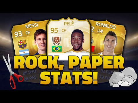 'WHAT A PULL' FIFA 15 PACK OPENING - ROCK, PAPER, SCISSORS w/EZEKIELGAMINGHD
