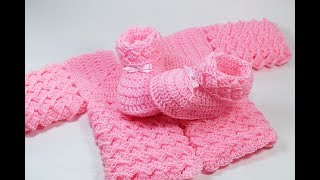 Crochet baby shoes very easy Majovel crochet