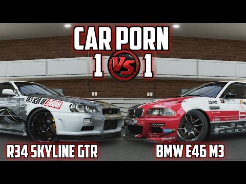 Forza 5 - Custom R34 Skyline Gtr Vs Bmw E46 M3 - Car Porn 1v1 Ep3 video