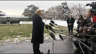 """President Trump Press Conference 1/14/19 """"I Never Worked For Russia"""" & James Comey """"Dirty Cop"""""""