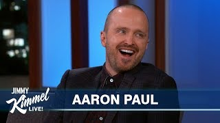 Aaron Paul on Breaking Bad Movie & Crazy Fans