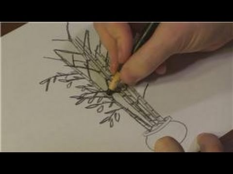 How to Draw Bamboo Trees