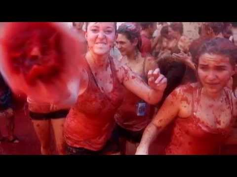 İspanya Domates Festivali 2016 yeni!!