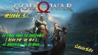 God of War : Épisode 4 : Je rame dans la montagne ( aidé par un abo)... Et massacre de Dragon...