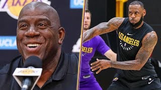 Magic Says Lakers Are STACKED And Don