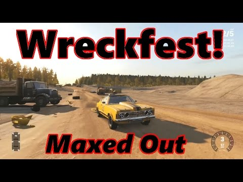 Next Car Game Wreckfest Max Settings on New PC!