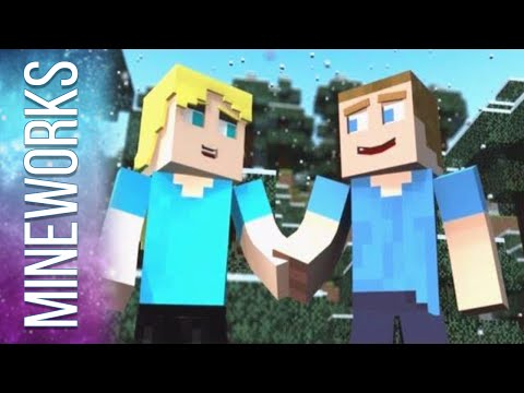 ♫ before Monsters Come - A Minecraft Parody Of One Direction's Live While We're Young video
