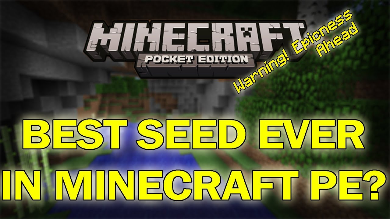 Best minecraft pe 0 7 3 pocket edition seed youtube
