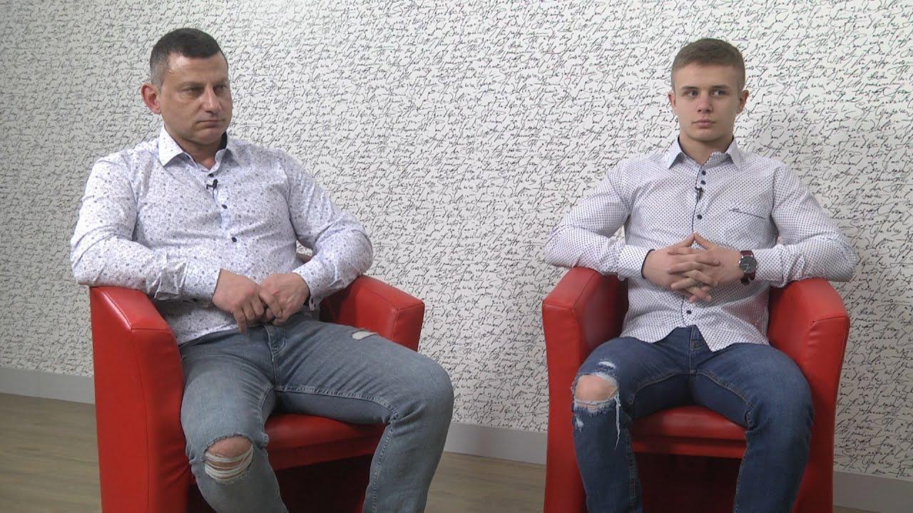 Cyprian Wieczorek i Krzysztof Kiełkowski