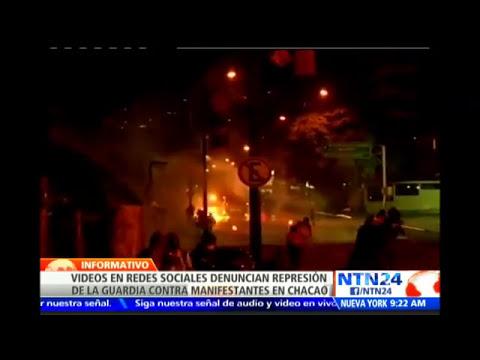 Colombiano muere en choques entre Fuerza Armada venezolana y supuestos paramilitares en Táchira