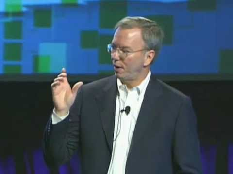 Eric Schmidt at TechCrunch Disrupt