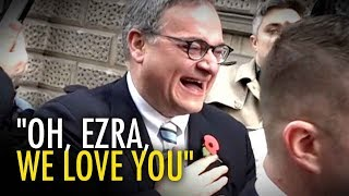 Tommy Robinson & supporters thank Ezra Levant!