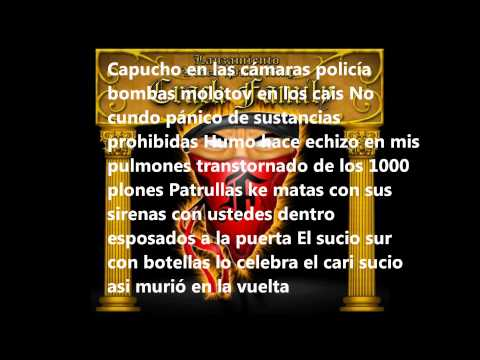 La Furia Fondo Blanco  Letra.mp3