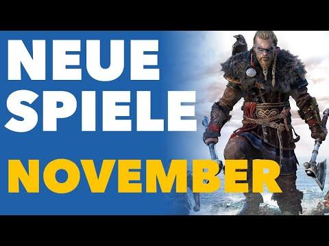 Im November gibt's genug NEUE Spiele - auch ohne Cyberpunk 2077! - Release-Vorschau