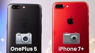 OnePlus 5 vs iPhone 7 Plus Camera Test