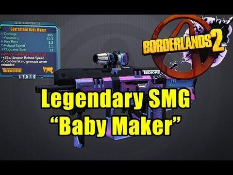 Legendary Baby Maker - Borderlands 2