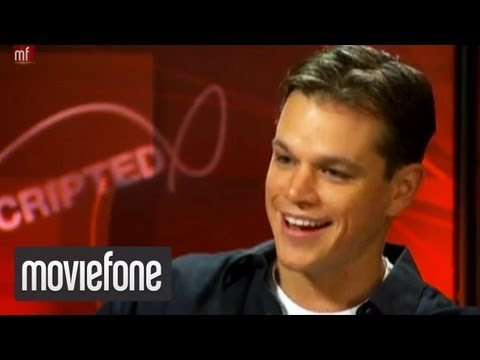Unscripted with Matt Damon and George Clooney
