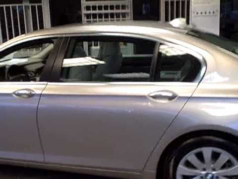 2011 Bmw 750lxi Cashmere Silver Metallic Youtube