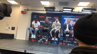 Top Rank 2020 Up-fronts Press conference