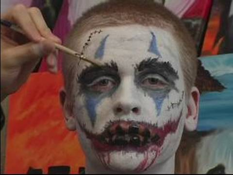 Halloween Scary Clown Makeup :