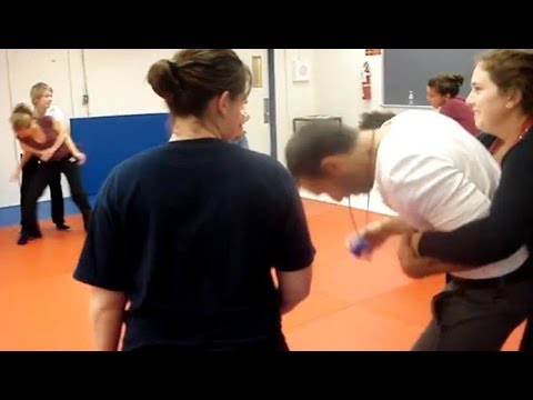 Bear hug from Behind - Self Defense for Women