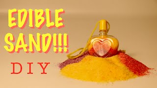 How To Make Edible Sand!