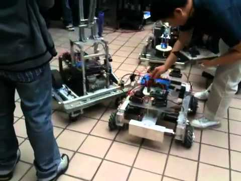 City Tech mechatronic club's robots