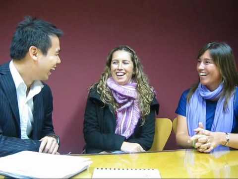 SRC Spotlight: Julietta Gutierrez and Oliva Cavallar (Chilean Exchange Program)