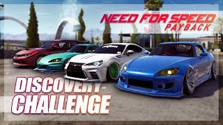 Need For Speed Payback - The Discovery Challenge (Race to Airport)