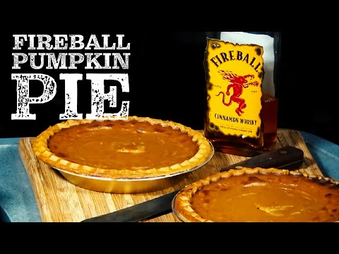 Fireball Whiskey Pumpkin Pie recipe by the BBQ Pit Boys