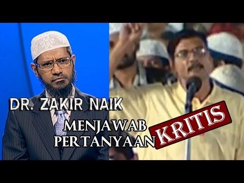 Dr. Zakir Naik Dikritik Seorang Bapak