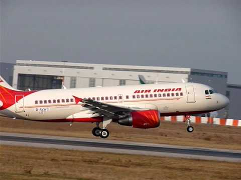 Airbus A319 Air India Takeoff