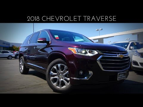 2018 Chevrolet Traverse Premier 3.6 L V6 Review