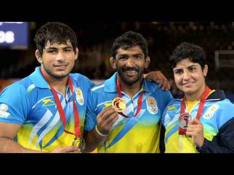 CWG 2014: Yogeshwar Dutt, Babita Kumari & Vikas Gowda lead India's Gold rush