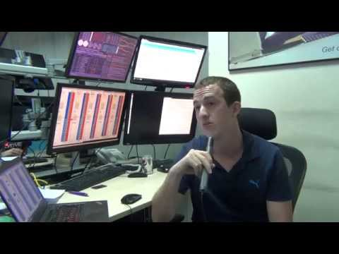Interview de Vincent, Trader / Scalper, sur le floor de Dubaï Professional Traders
