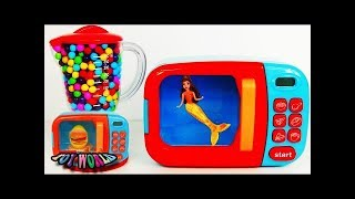 [Learn] Baby Doll and Color SAND play with Pororo toys and Colors for children