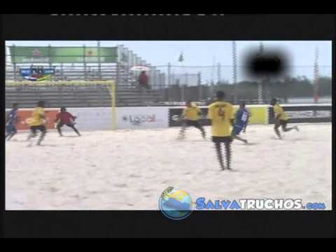 El Salvador 7 Vs Jamaica 2 Futbol Playa Premundial