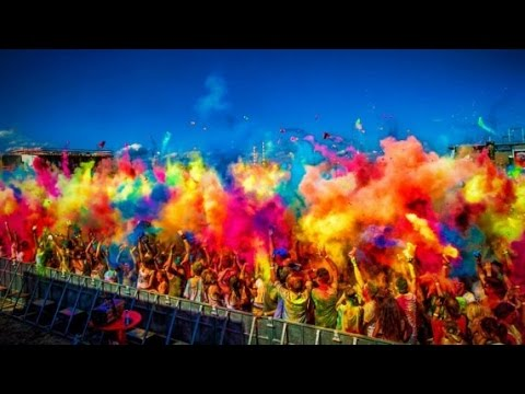 Holi Festival of Colors 2015 Barcelona! El festival de los colores- Gopro HD