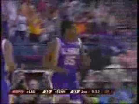 LSU vs Tennessee NCAA Final Four 2008 #4 Video